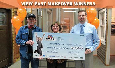 Home Makeover Sweepstakes 2014 - 10 000 home makeover sweepstakes c l ward