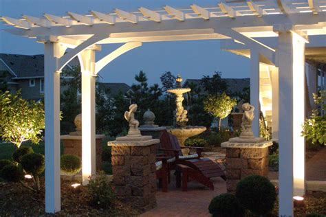 Patio Lights Uk Let There Be Light Pergola Lighting And Design Ideas