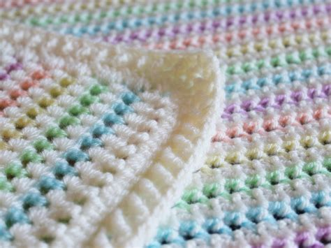 Crochet Patterns For Baby Blanket by Made In K Town Starlight Baby Blanket Pattern