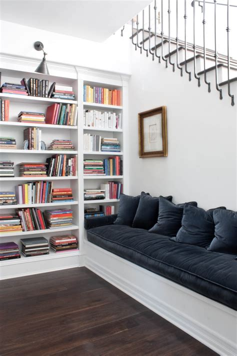 bookshelf seating bench wendy haworth design studio los angeles area remodelista