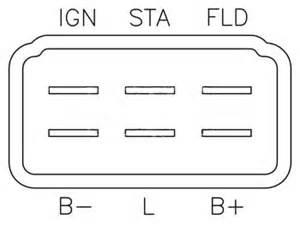 in555 voltage regulator transpo brand for nippondenso alternators
