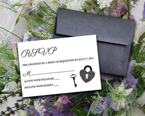 diy wedding invitation card template diy wedding template response card quot key to my