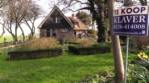 huizen te koop noord holland landhuis met vrij uitzicht te koop in spanbroek noord