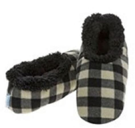 snoozie slippers mens snoozie slippers fleece anti slip soft gift size ebay