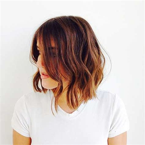 car mal highlight on wavy bob hair cut 20 bob haircuts for girls short hairstyles 2017 2018