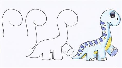 c 243 mo aprender a dibujar animales paso a paso im 225 genes videos como dibujar a un dinosaurio paso a paso dibujos
