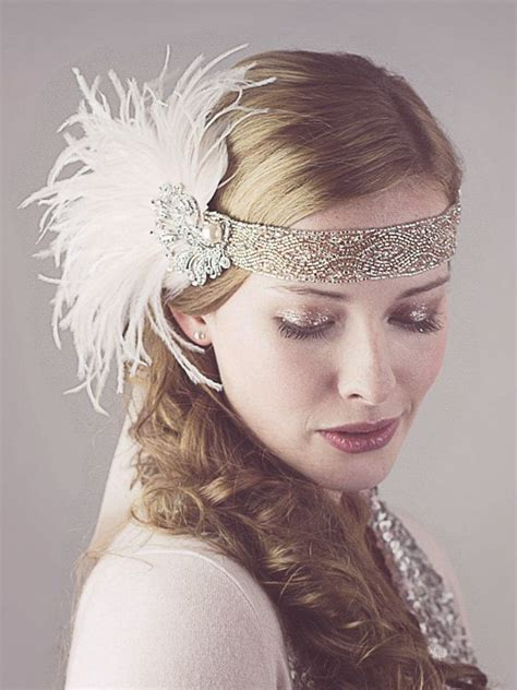how to make a 1920s hairpiece best 25 flapper headband ideas on pinterest flapper