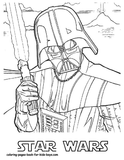 star wars coloring pages printable  coloring  kids