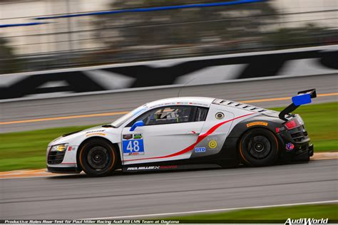 paul miller audi productive rolex roar test for paul miller racing audi r8
