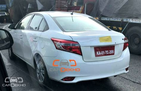 Lu Hid New Vios toyota vios spotted testing in india