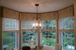 Bay Window Kitchen Curtains Bay Window Valance Box Pleated Valance To Tie 4 Windows Together In A Bay Sewing Ideas