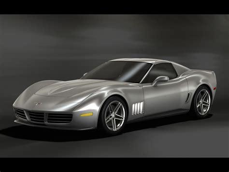 2009 C3r Retro Corvette Stingray Design Update Silver