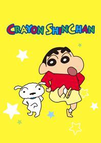 theme line telkomsel crayon shinchan
