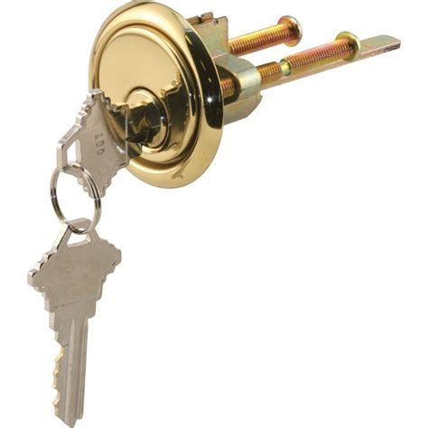 prime line cylinder lock with trim ring 5 pin lock