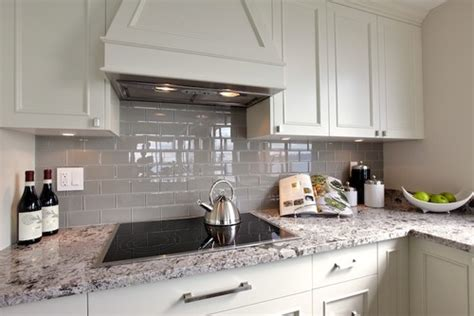 Grey Kitchen Backsplash Grey Backsplash Home Decoration