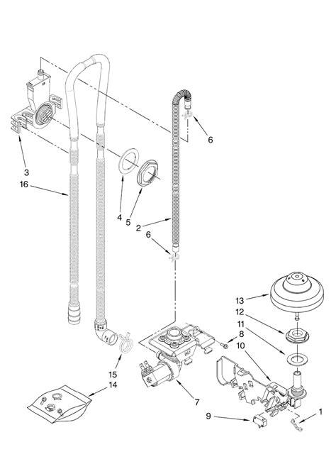 kenmore elite 665 dishwasher parts wiring diagrams