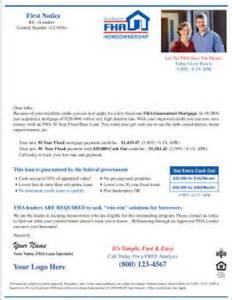 Mortgagee Letter For Streamline Refinance Home E Mail Send Files