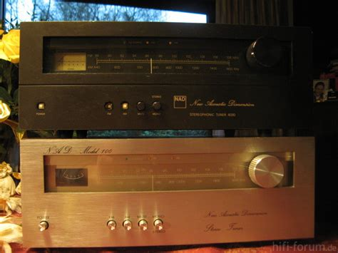 Tuner The Fosters by Nad Model 100 Stereo Tuner Hifi Klassiker Hifi Forum