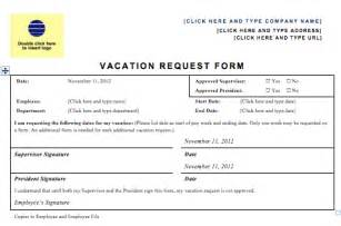 Vacation Request by Vacation Request Forms Excel Free Calendar Template 2016