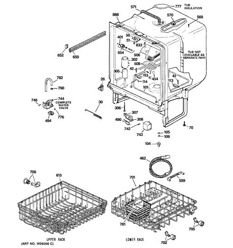 dishwasher parts diagram 301 moved permanently