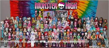 lots monster dolls monster picture