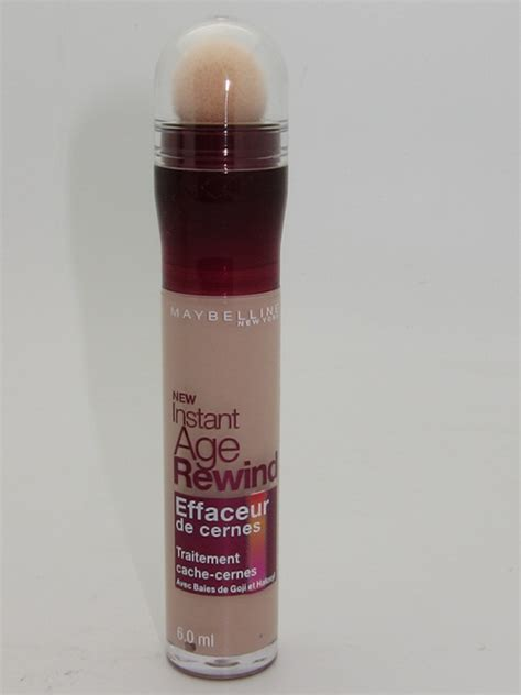 Maybelline Instant Age Rewind Concealer Review maybelline instant age rewind eraser circle concealer