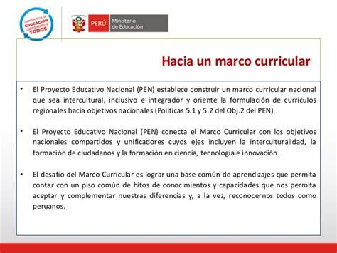 marco curricular y aprendizajes fundamentales jose encinas 1 marco curricular nacional y aprendizajes fundamentales