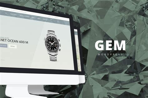 themeforest gem gem luxury ecommerce responsive wordpress theme free download