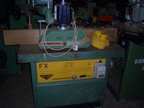 wilson woodworking machinery wilson fx spindle moulder manual