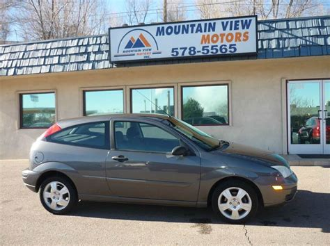ford motor credit colorado springs co 2005 ford focus zx3 ses 2dr hatchback in colorado springs