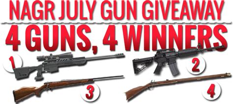 Nagr Giveaway - free guns and ammo giveaways