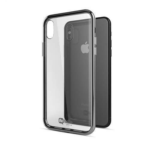 Chrome For Iphone 66s Softcase Jelly For Iphone 6 behello gel chrome edge iphone x zilver iphone cases nl