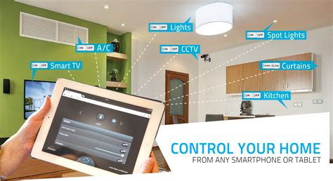 applications of home automation interior design ideas