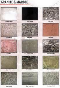 granite floor tile colors