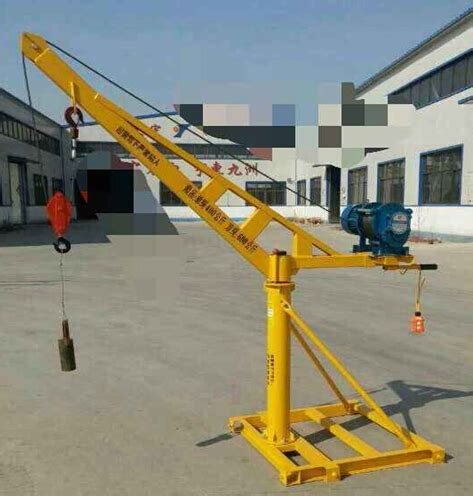 swing arm hoist electric swing arm hoist with the steel base height 2 2m
