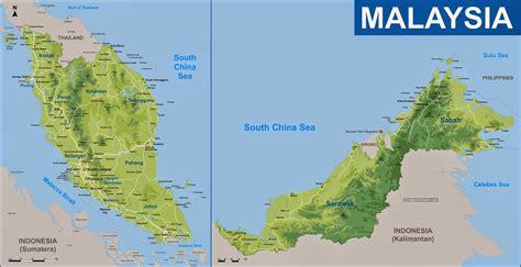 map of malaysia malaysia in the map malaysia track