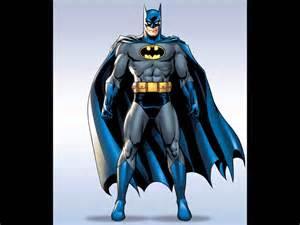 batman wore grey blue