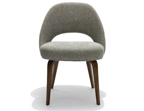 Saarinen Stuhl by Saarinen Executive Armless Chair Knoll