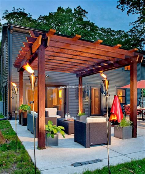 patio pergola stunning ideas for patio garden pergolas diy motive