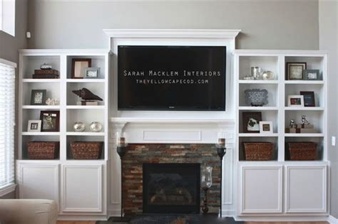fireplace cabinets png