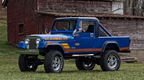 jeep scrambler blue 1981 jeep scrambler t288 kissimmee 2016