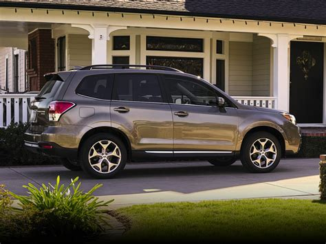 subaru suv white new 2018 subaru forester price photos reviews safety