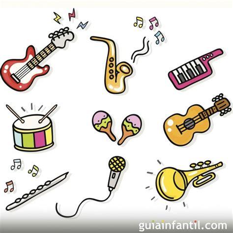 imagenes animadas instrumentos musicales dibujos para colorear de instrumentos de m 250 sica