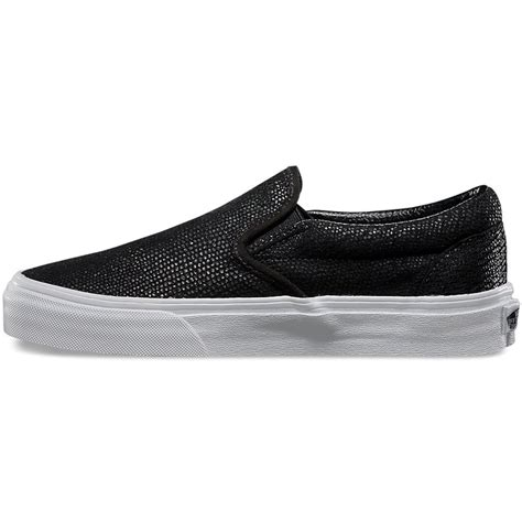 vans pebble snake slip on shoes