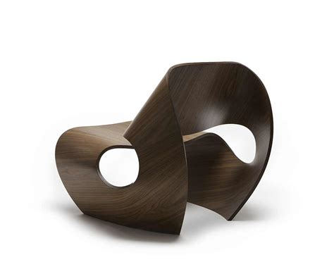 chair design ideas stylish chair design inspired by the concave lines of sea