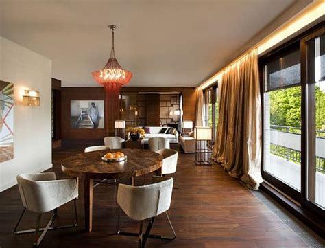 elegant living room decor contemporary parkowa apartment in warsaw poland