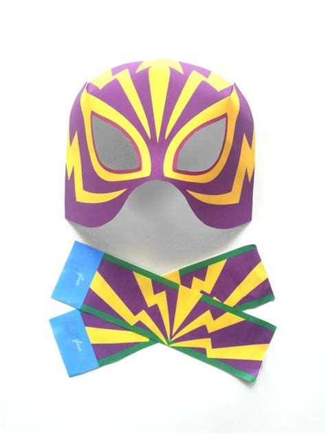 printable luchador masks 12 printable lucha libre masks products lucha libre and