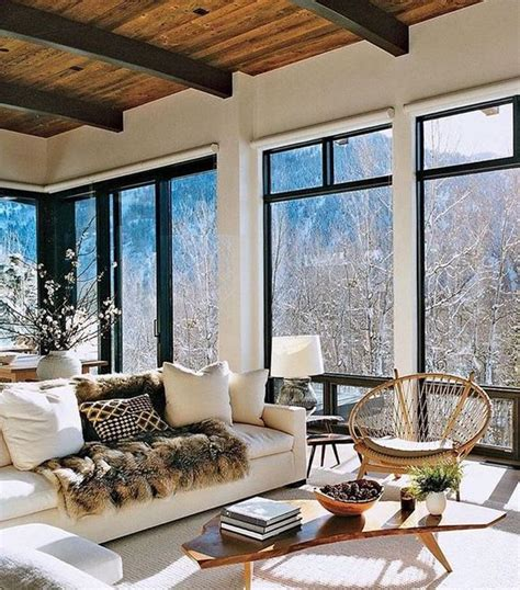 Mountain Home Interiors by Modern Mountain Homes The Berkshire House