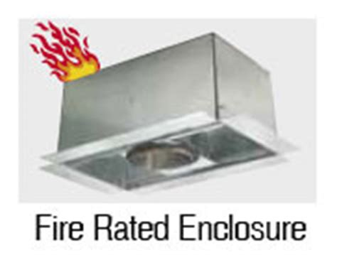 Nora Lighting Fire Rated Recessed Light Enclosure