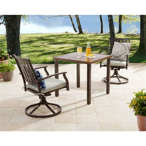 Small Patio Table Set Patio Table Walmart